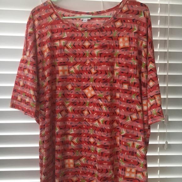 Objective New Lularoe Irma Shirt L Leggings